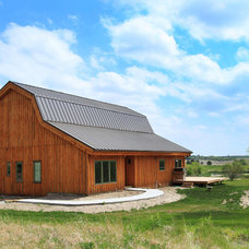 Rustic Garage And Shed by Sand Creek Post & Beam