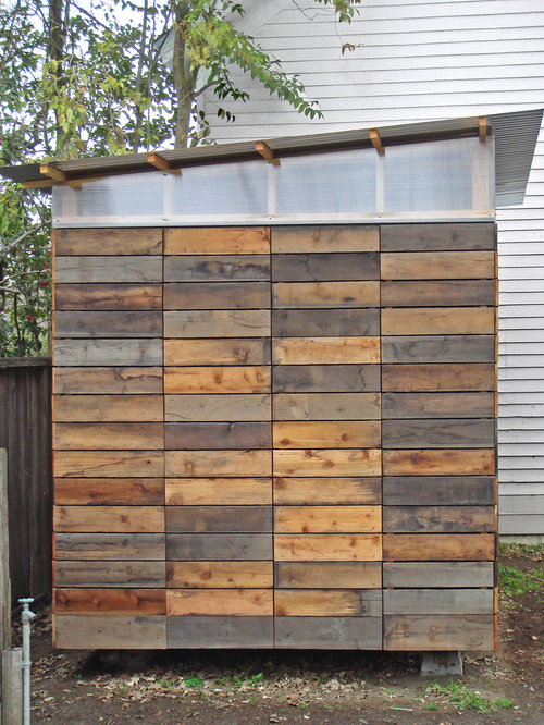 Plywood Walls Garage And Shed Design Ideas Pictures