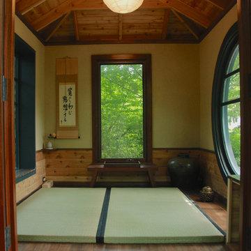 Petunia, a Japanese Tea House