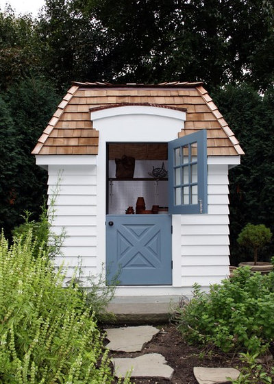 Traditional Shed by O'Connor Brehm Design-Build