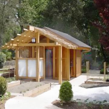 pool house/Japanese bath house