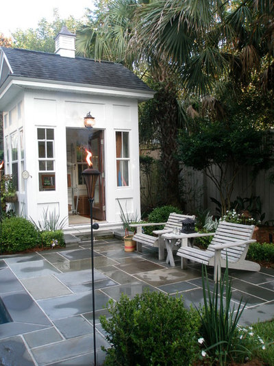 Traditional Shed by K C Wood Custom Homes