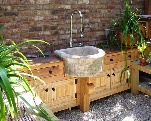 Outdoor Sink Design Ideas Remodel Pictures Houzz