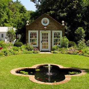 Inspiration for a traditional garden shed in Atlanta.