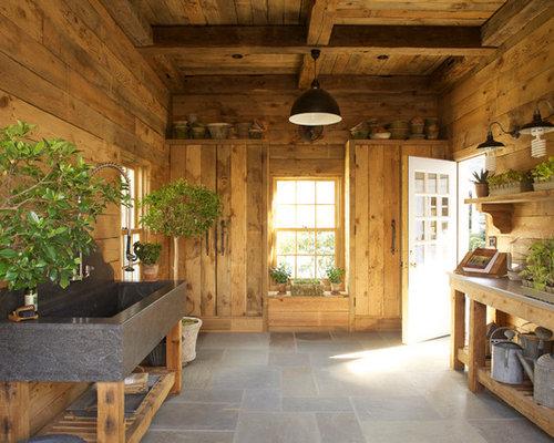 rustikale garagen und ger teschuppen bilder ideen. Black Bedroom Furniture Sets. Home Design Ideas