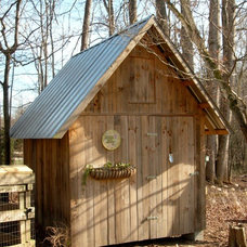 Traditional Garage And Shed by Mill Creek Cottages