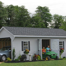 Garage And Shed by Sheds Unlimited INC