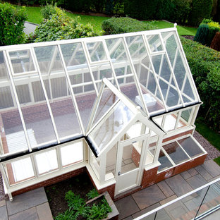 Photo of a transitional detached garden shed in Other.