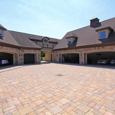 Traditional Garage And Shed by Platinum Fine Homes & Estates