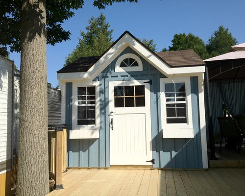 garten und balkon garagen und ger teschuppen bilder. Black Bedroom Furniture Sets. Home Design Ideas