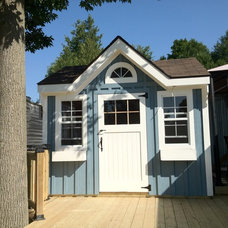 Traditional Garage And Shed by Decor by Christine Interior Decorating & Design