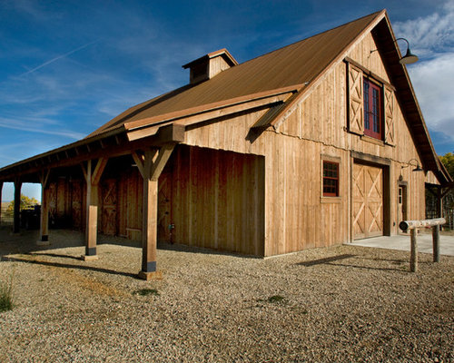 Barn With Living Quarters Houzz