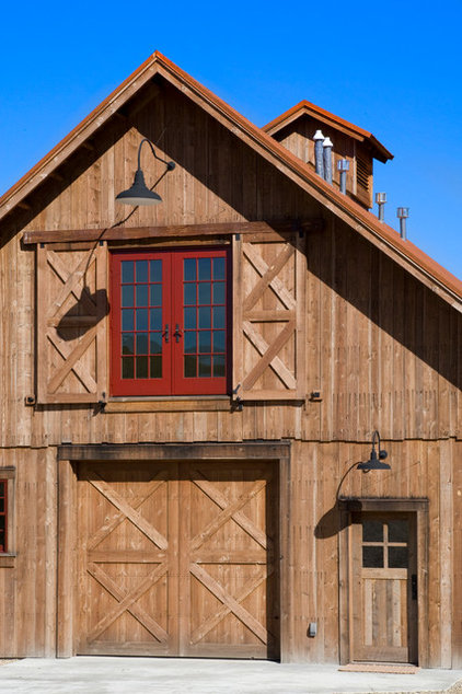 Rustic Garage And Shed by Yellowstone Traditions