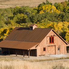 Traditional Garage And Shed by Yellowstone Traditions