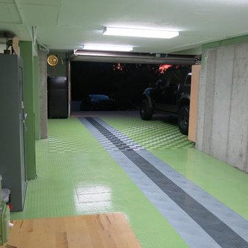 RaceDeck ' Green ' Garage - Garage Flooring