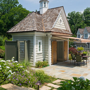 Shed - traditional detached shed idea in Philadelphia