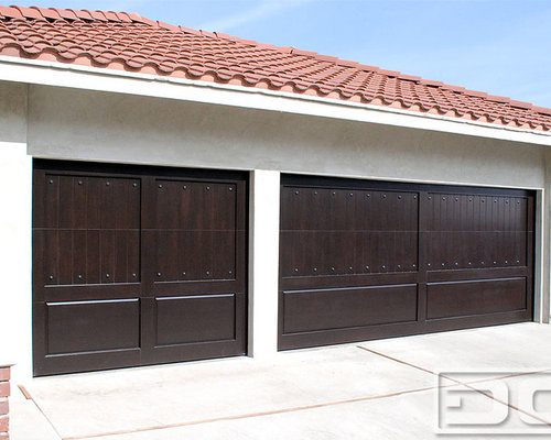 Rancho palos verdes custom garage doors in eco friendly for Garage door materials
