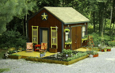Dig This Garden Shed Makeover for Less Than $300