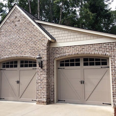 Eclectic Garage And Shed Recently completed residence- Columbia, SC