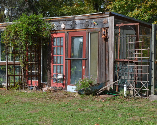 Garden Sheds From Recycled Materials recycled materials garden shed and building design ideas