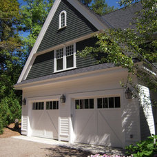 Traditional Garage And Shed by N. J. White Associates