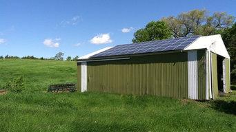 Residential Solar Barns