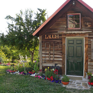 Mountain Style Garden Shed Photo In Boise