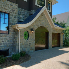Traditional Garage And Shed by Maillot Homes