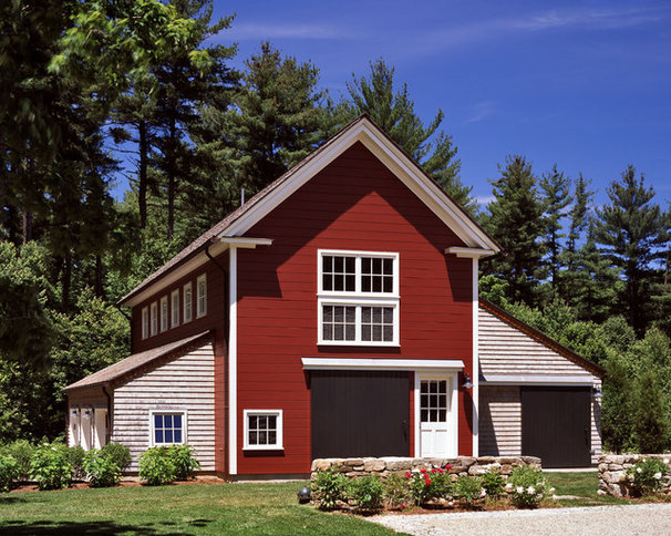Traditional Garage And Shed by Albert, Righter & Tittmann Architects, Inc.