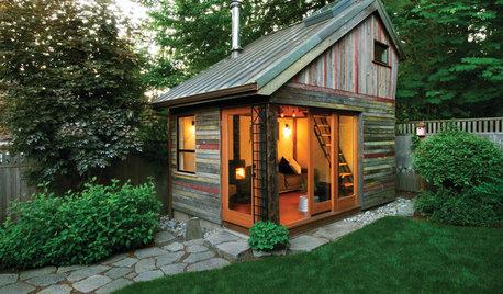 Фотоохота: Садовые домики — 21 идея