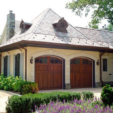 Traditional Garage And Shed by Robey Incorporated