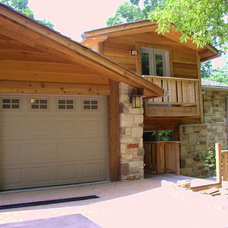 Traditional Garage And Shed by Liston Construction Company, Inc.