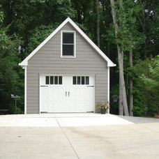 Traditional Garage And Shed by Distinctive Remodeling Solutions, Inc