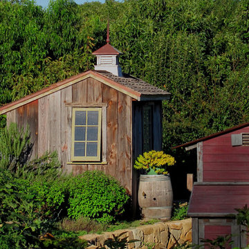 Rural Farm style Shed and Chicken Coop
