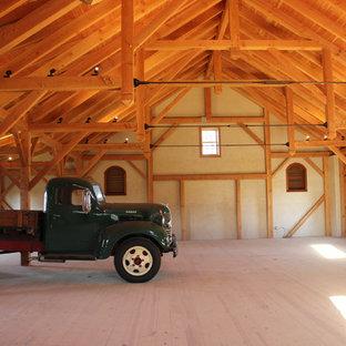 Idéer för att renovera en mycket stor vintage fristående lada