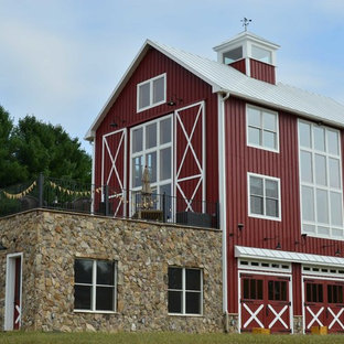 Inspiration for an expansive country detached barn in DC Metro.