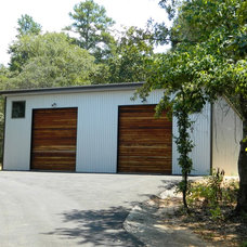 Rustic Garage And Shed by Wright-Built