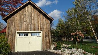 Rustic Rutland Pool House and Garage