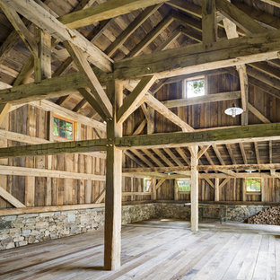 This is an example of a large country detached barn in New York.