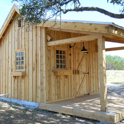 Austin Rustic Garden Shed Garage and Shed Design Ideas