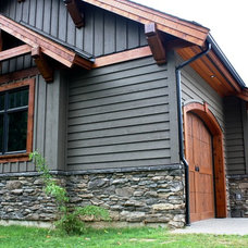 Rustic Garage And Shed by Willson Design