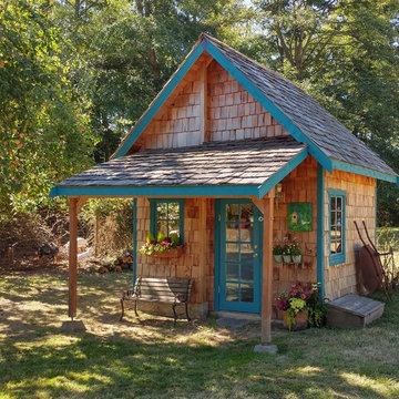 Rustic Woodshed