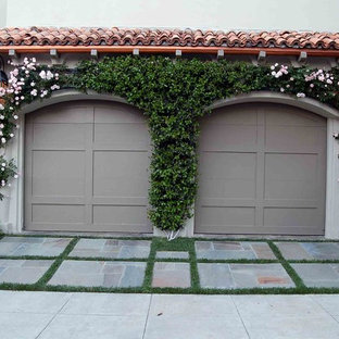 Photo of a mediterranean garden shed and building in Los Angeles.