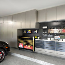 Contemporary Garage And Shed by Encore Garage