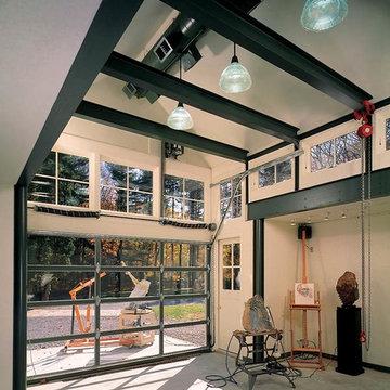 SCULPTURE STUDIO, POUND RIDGE, NY