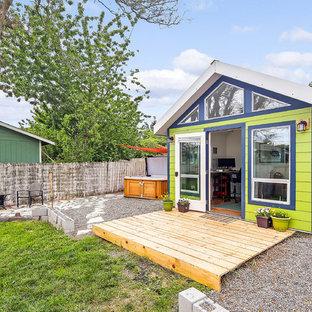 Freistehendes Modernes Gartenhaus als Arbeitsplatz, Studio oder Werkraum in Seattle