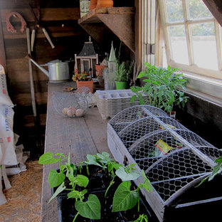 Shabby Chic Chicken Coop and Potting Shed