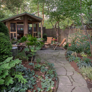 Mid-sized mountain style detached studio / workshop shed photo in DC Metro