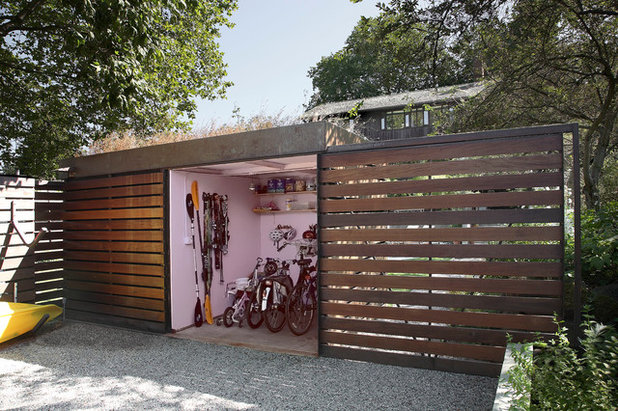 12 charming garden sheds and backyard cottages for Modern garden buildings