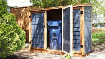 Shed for Garbage, Recycling and Green Bin